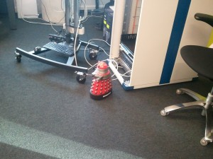 Remote Control Dalek activated by TV show