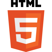 The HTML5 Logo.