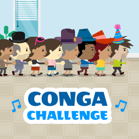 White Label Conga Challenge