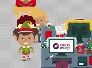 Opus Energy Christmas Conga